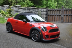 2013 JCW Roadster - Ron and Linda Carignan - Olympia